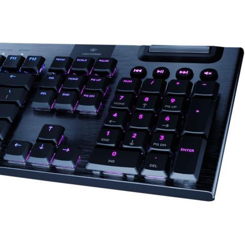 Logitech G915 TKL Tenkeyless Lightspeed Wireless RGB Mechanical Gaming Keyboard Alternate-Image8/500