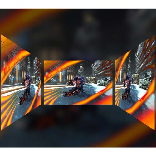 "Viewsonic XG2705 27"" Full HD LED Gaming LCD Monitor   16:9   Black Alternate-Image8/500"