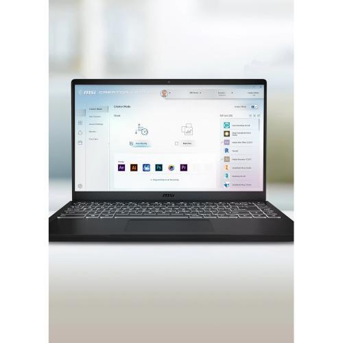 "MSI Modern 14   B10R Modern 14 B10RASW 079 14"" Gaming Notebook   Full HD   1920 X 1080   Intel Core I5 (10th Gen) I5 10210U 1.60 GHz   8 GB RAM   512 GB SSD   Onyx Black Alternate-Image8/500"