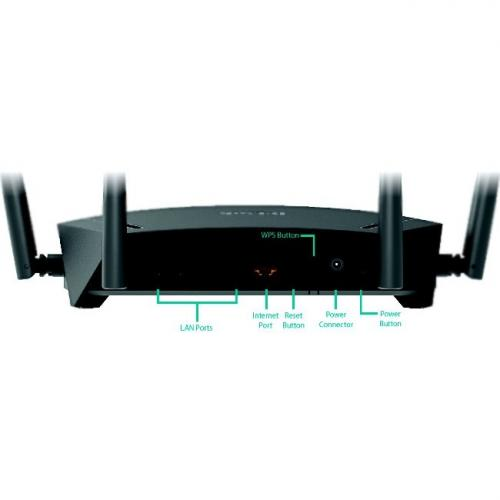 D Link DIR 1750 IEEE 802.11ac Ethernet Wireless Router Alternate-Image8/500