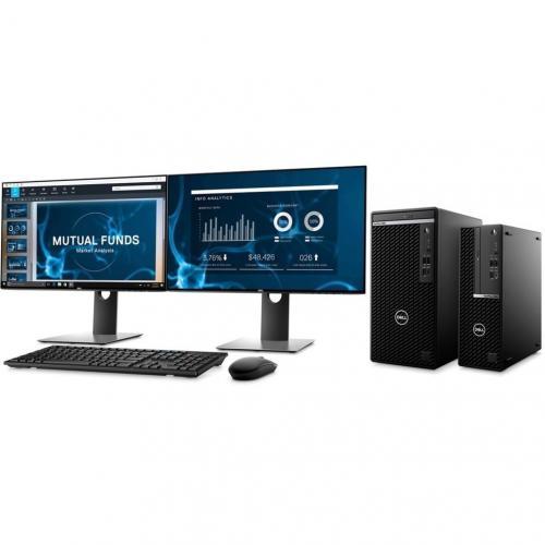 Dell OptiPlex 5000 5080 Desktop Computer   Intel Core I7 10th Gen I7 10700 Octa Core (8 Core) 2.90 GHz   8 GB RAM DDR4 SDRAM   1 TB HDD   Small Form Factor Alternate-Image8/500