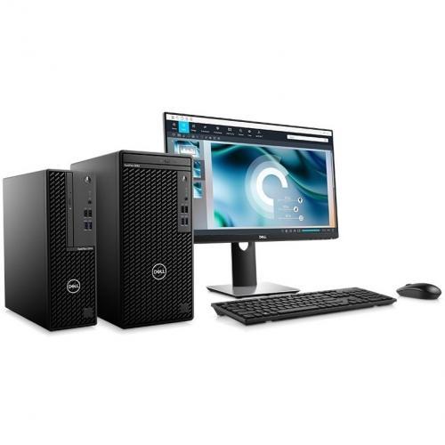 Dell OptiPlex 3000 3080 Desktop Computer   Intel Core I5 10th Gen I5 10500 Hexa Core (6 Core) 3.10 GHz   8 GB RAM DDR4 SDRAM   256 GB SSD   Small Form Factor Alternate-Image8/500
