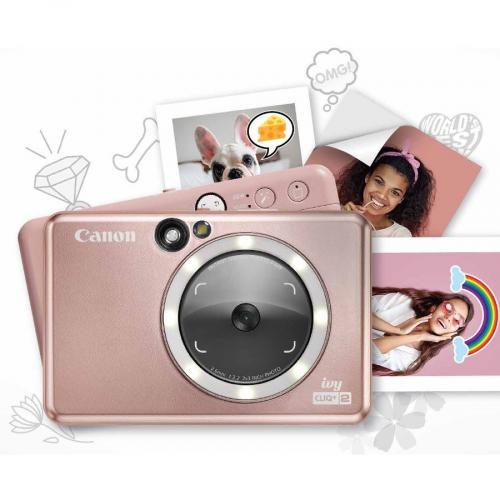 Canon IVY CLIQ+2 8 Megapixel Instant Digital Camera   Rose Gold Alternate-Image8/500