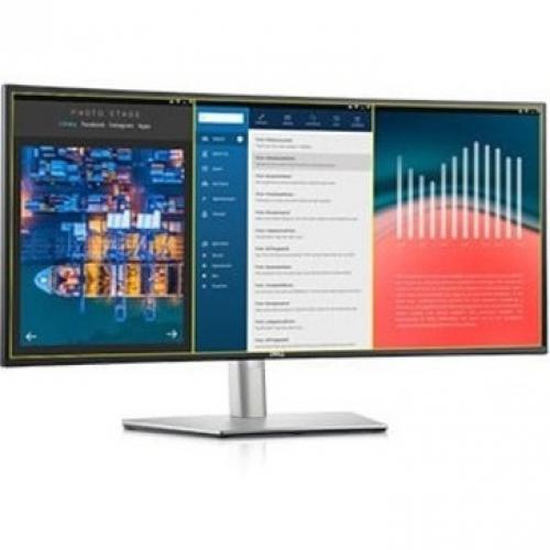 "Dell UltraSharp U3421WE 34.1"" Curved Screen LCD Monitor Alternate-Image8/500"