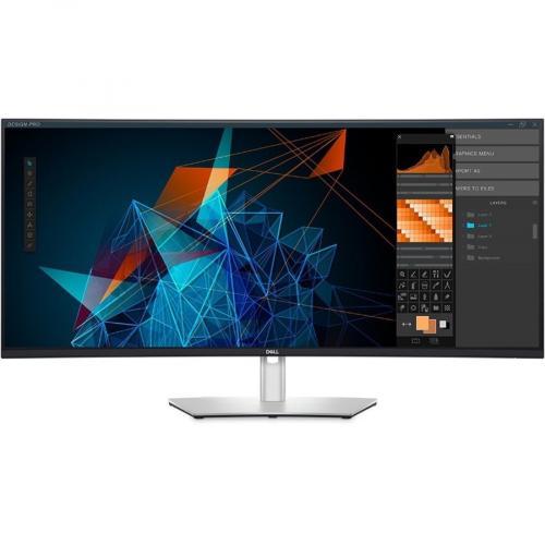 "Dell UltraSharp U4021QW 39.7"" WUHD Curved Screen LCD Monitor Alternate-Image8/500"