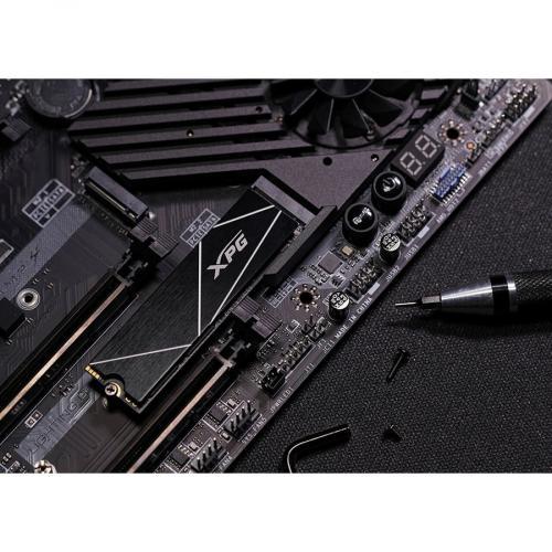 XPG GAMMIX S70 BLADE AGAMMIXS70B 2T CS 2 TB Solid State Drive   M.2 2280 Internal   PCI Express NVMe (PCI Express NVMe 4.0 X4) Alternate-Image8/500