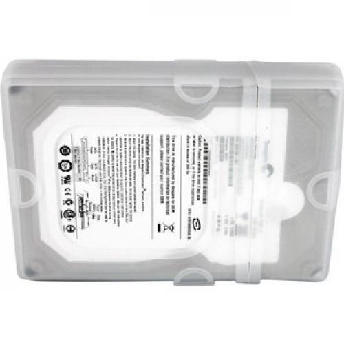 StarTech.com 3.5in Silicone Hard Drive Protector Sleeve With Connector Cap Bottom/500