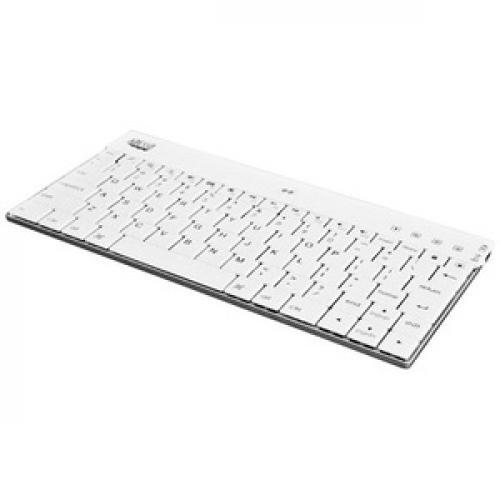 Adesso WKB 1000BW Bluetooth Mini Keyboard 1000 For IPad (white) Bottom/500
