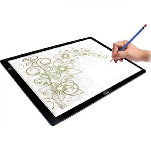 "Adesso CyberPad P2  12"" X 17"" LED Light Tracing Pad Bottom/500"