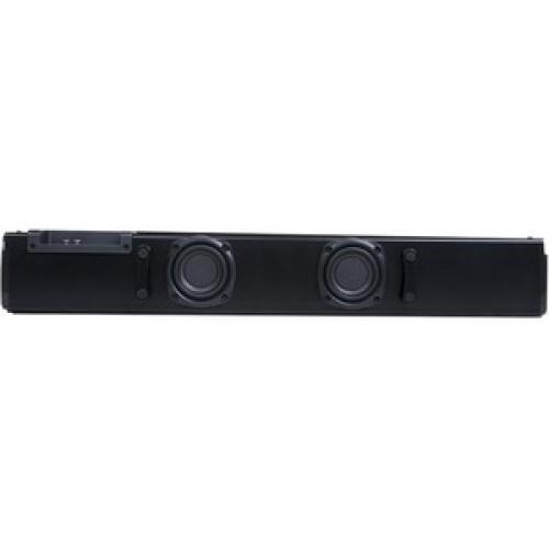 AVerMedia SonicBlast GS333 2.1 Bluetooth Sound Bar Speaker   60 W RMS   Black, Blue Bottom/500