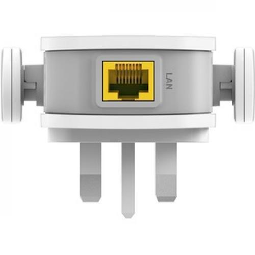 D Link DAP 1610 IEEE 802.11ac 1.17 Gbit/s Wireless Range Extender Bottom/500