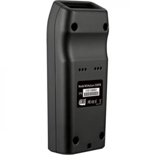 Adesso NuScan 3500CB Bluetooth Mobile Waterproof Antimicrobial CCD Barcode Scanner Bottom/500