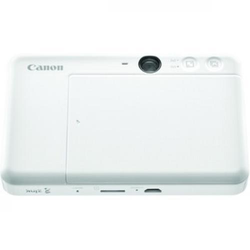 Canon IVY CLIQ+ Instant Digital Camera   Pearl White Bottom/500