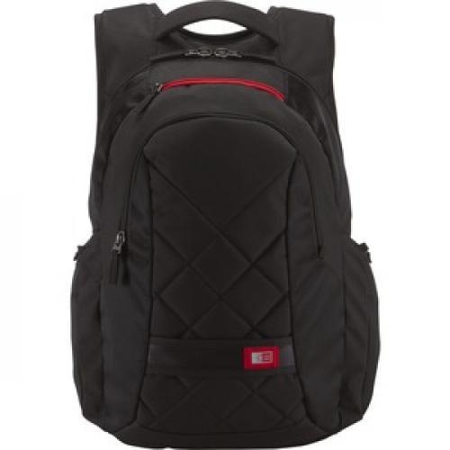 """Case Logic DLBP 116BLACK Carrying Case (Backpack) For 16"""" Notebook   Black Front/500"""