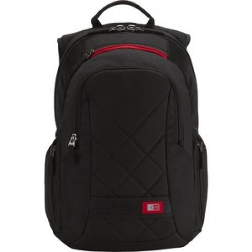 "Case Logic DLBP 114 Carrying Case (Backpack) For 13"" To 15"" Notebook   Black Front/500"
