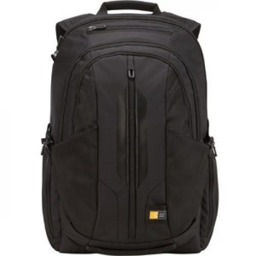 """Case Logic RBP 117 Carrying Case (Backpack) For 17.3"""" Notebook   Black Front/500"""