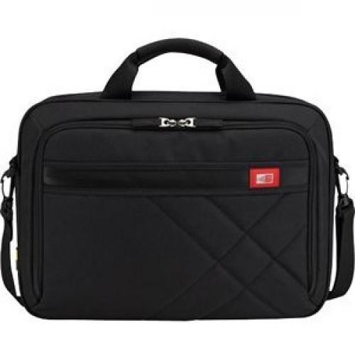 "Case Logic DLC 117BLACK Carrying Case (Messenger) For 10.1"" To 17.3"" Notebook   Black Front/500"