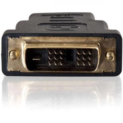 C2G DVI D To HDMI Adapter   Inline Adapter   Male To Female Front/500