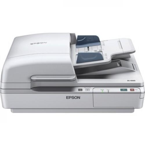 Epson WorkForce DS 6500 Flatbed Scanner   1200 Dpi Optical Front/500