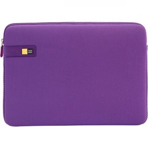 "Case Logic LAPS 113 Carrying Case (Sleeve) For 13"" To 13.3"" MacBook   Purple Front/500"