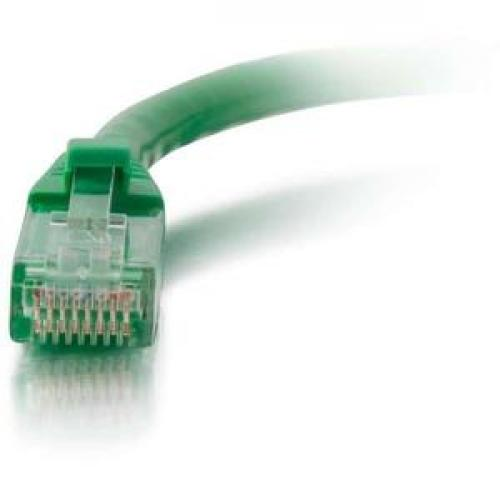 C2G 30ft Cat6 Snagless Unshielded (UTP) Network Patch Cable   Green Front/500