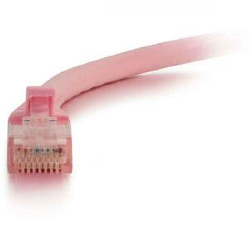 C2G 50ft Cat6 Snagless Unshielded (UTP) Network Patch Cable   Pink Front/500