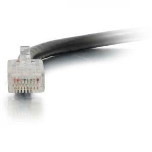 C2G 50ft Cat6 Non Booted Unshielded (UTP) Network Patch Cable   Black Front/500