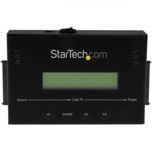 "StarTech.com Standalone 2.5 / 3.5"" SATA Hard Drive Duplicator And Eraser Front/500"