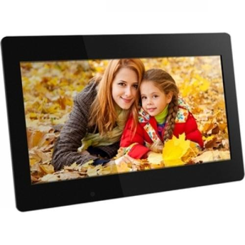 Aluratek 18.5 Inch Digital Photo Frame With 4GB Built In Memory Front/500