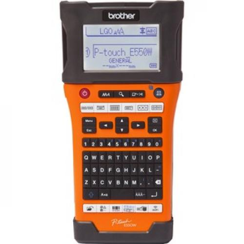 Brother P Touch EDGE PT E550W Electronic Label Maker Front/500