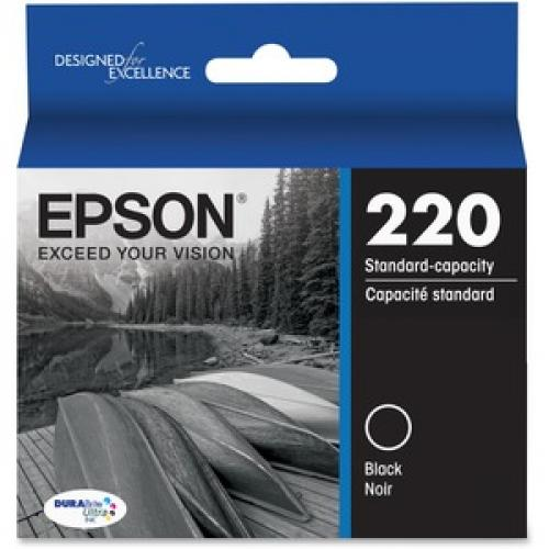 Epson DURABrite Ultra Ink T220 Original Ink Cartridge Front/500
