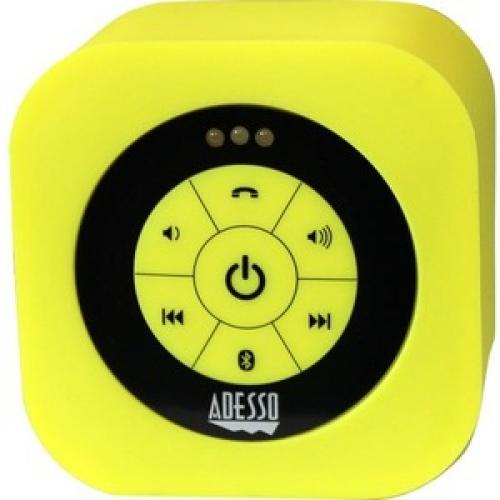 Adesso Xtream Xtream S1Y Bluetooth Speaker System   Yellow Front/500