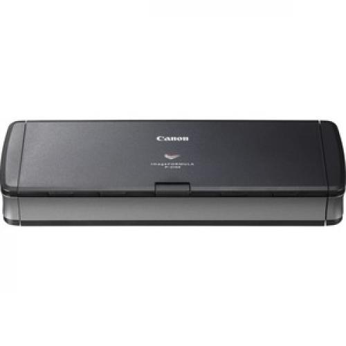 Canon ImageFORMULA P 215II Mobile Document Scanner Front/500