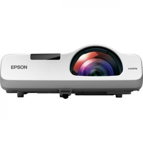 Epson PowerLite 520 Short Throw LCD Projector   4:3   White Front/500