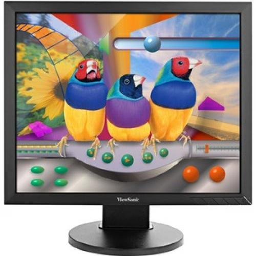 "Viewsonic VG939Sm 19"" SXGA LED LCD Monitor   5:4   Black Front/500"