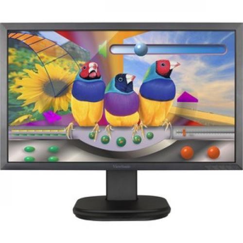 "Viewsonic VG2439Smh 24"" Full HD LED LCD Monitor   16:9   Black Front/500"