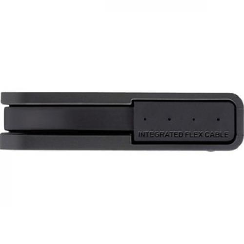 BUFFALO MiniStation Extreme NFC USB 3.0 2 TB Rugged Portable Hard Drive (HD PZN2.0U3B) Front/500