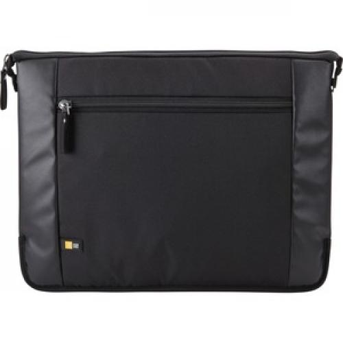 "Case Logic Intrata INT 114 Carrying Case (Attaché) For 14.1"" Notebook   Black Front/500"