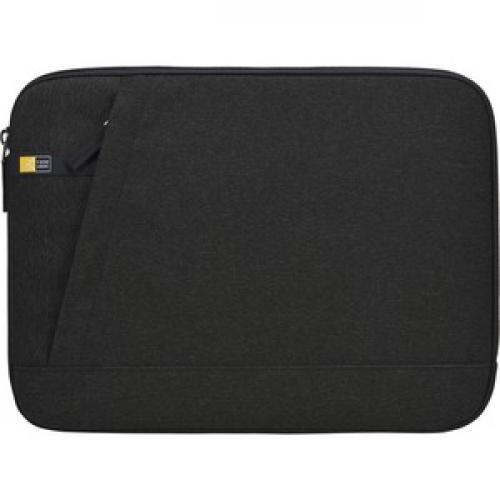"Case Logic Huxton Carrying Case (Sleeve) For 13.3"" Notebook   Black Front/500"
