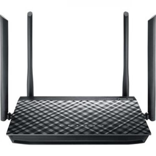 Asus RT AC1200 IEEE 802.11ac Ethernet Wireless Router Front/500