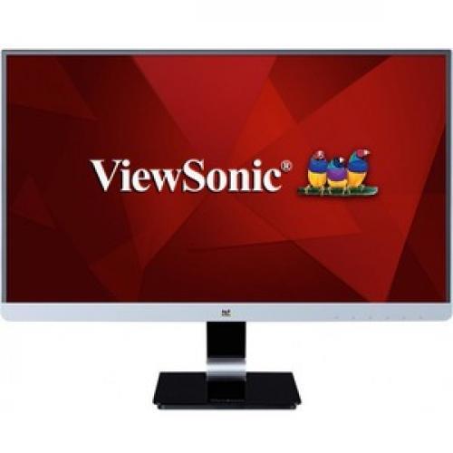 "Viewsonic VX2478 SMHD 23.8"" WQHD LED LCD Monitor   Black Front/500"