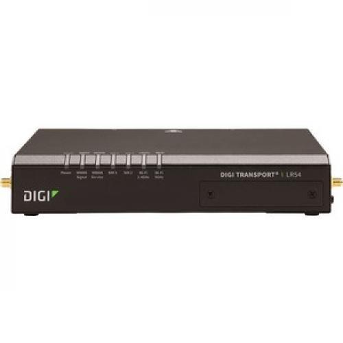 Digi TransPort LR54 IEEE 802.11ac Cellular Modem/Wireless Router Front/500