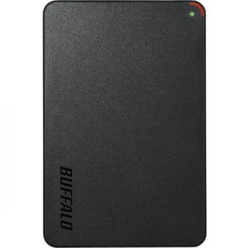 Buffalo MiniStation HD PCF2.0U3BD 2 TB Portable Hard Drive   External   SATA (SATA/300)   TAA Compliant Front/500