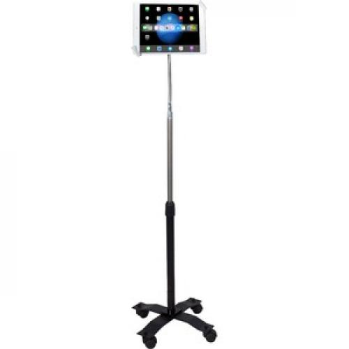 CTA Digital Compact Security Gooseneck Floor Stand For 7 13 Inch Tablets Front/500