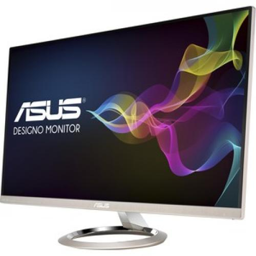 """Asus Designo MX27UC 27"""" 4K UHD LED LCD Monitor   16:9   Icicle Gold, Black Front/500"""