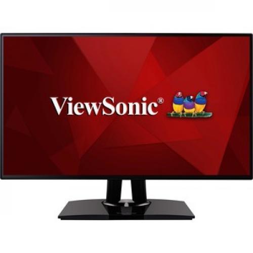 "Viewsonic VP2768 27"" WQHD LED LCD Monitor   16:9   Black Front/500"