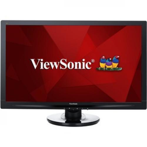 "Viewsonic VA2446MH LED 24"" Full HD WLED LCD Monitor   16:9   Black Front/500"