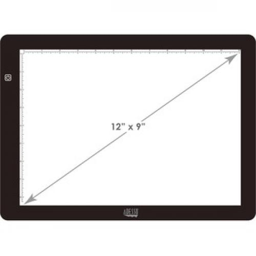 "Adesso CyberPad P1  12"" X 9"" LED Light Tracing Pad Front/500"