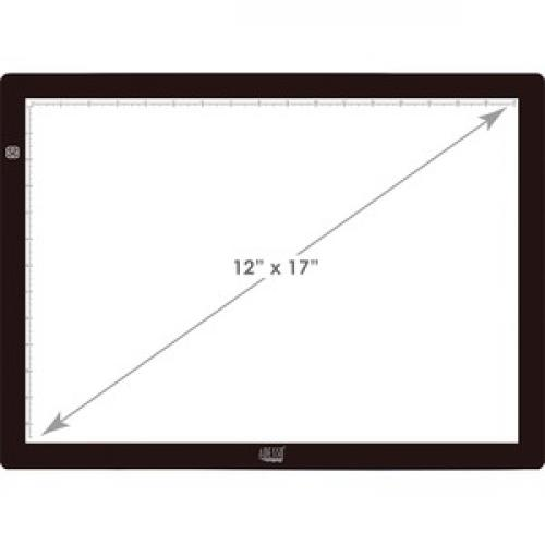 "Adesso CyberPad P2  12"" X 17"" LED Light Tracing Pad Front/500"
