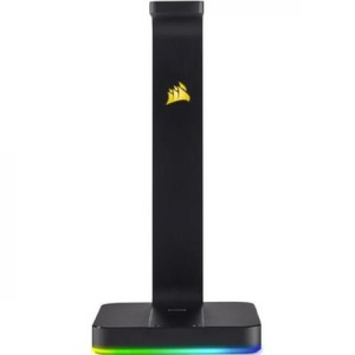 Corsair ST100 RGB Premium Headset Stand With 7.1 Surround Sound Front/500